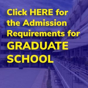 GRADUATE SCHOOL ADMISSION REQUIREMENTS