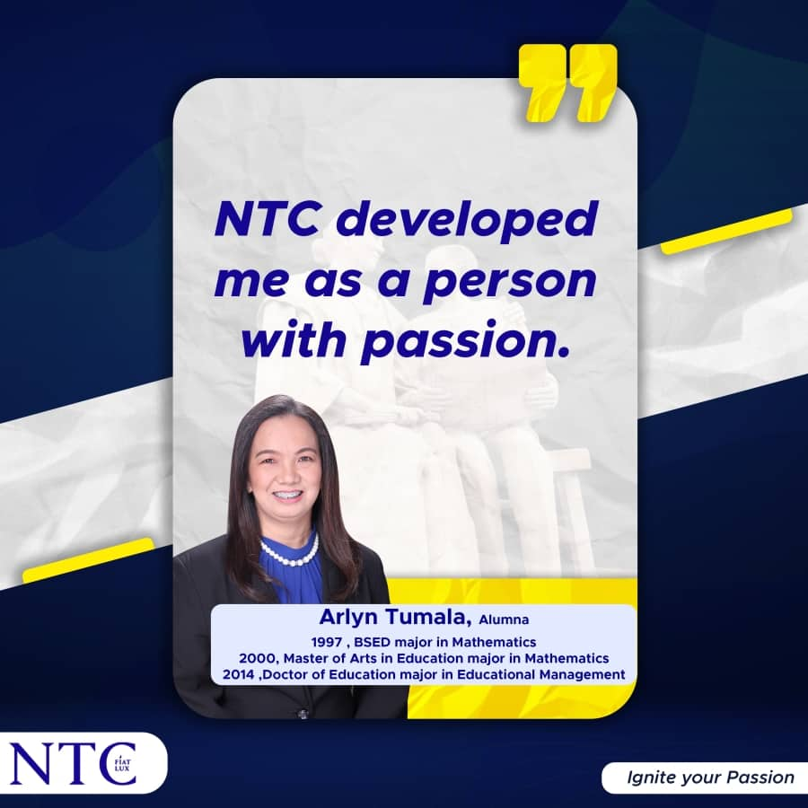 NTC Transforms Student's Life
