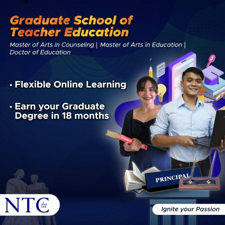 Kickstart your Graduate Studies in NTC