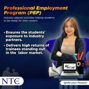 Professional employment Program in NTC