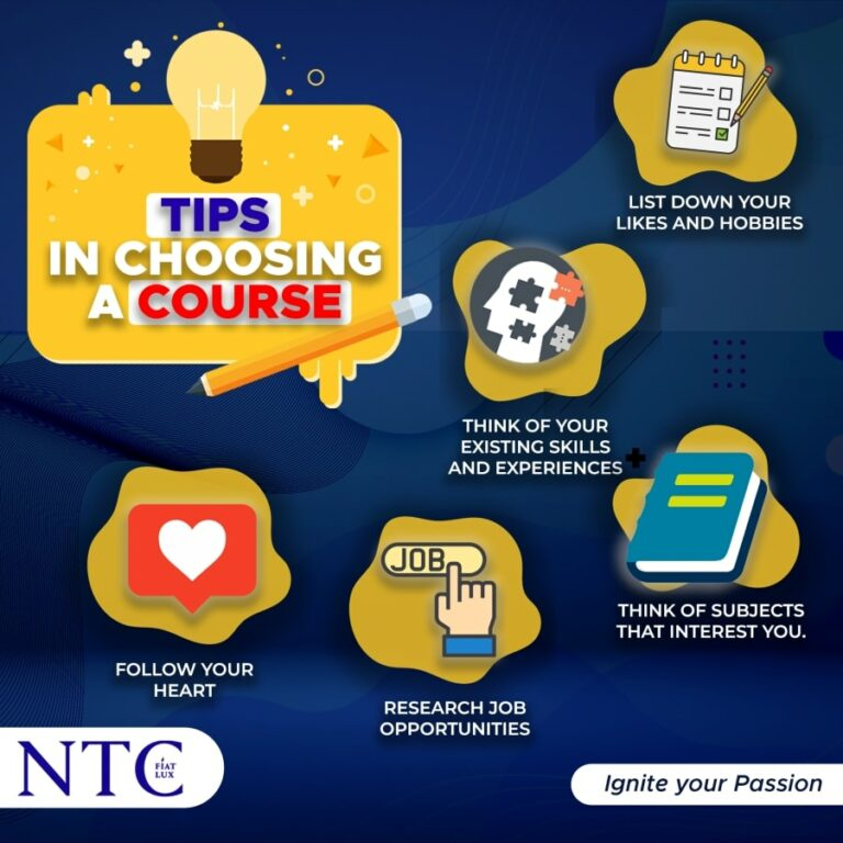 Tips in Choosing College Course