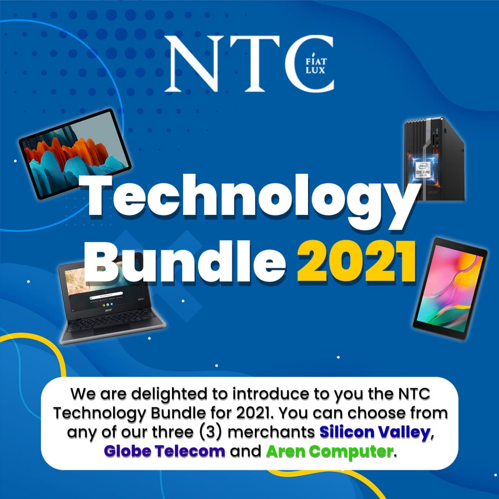Technology Bundles Exclusive to NTCians