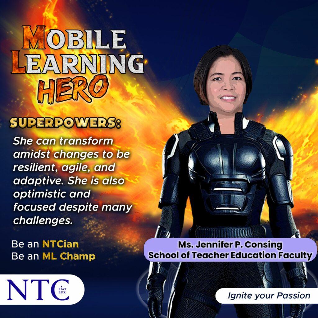 Mobile Learning Hero Jennifer Consing