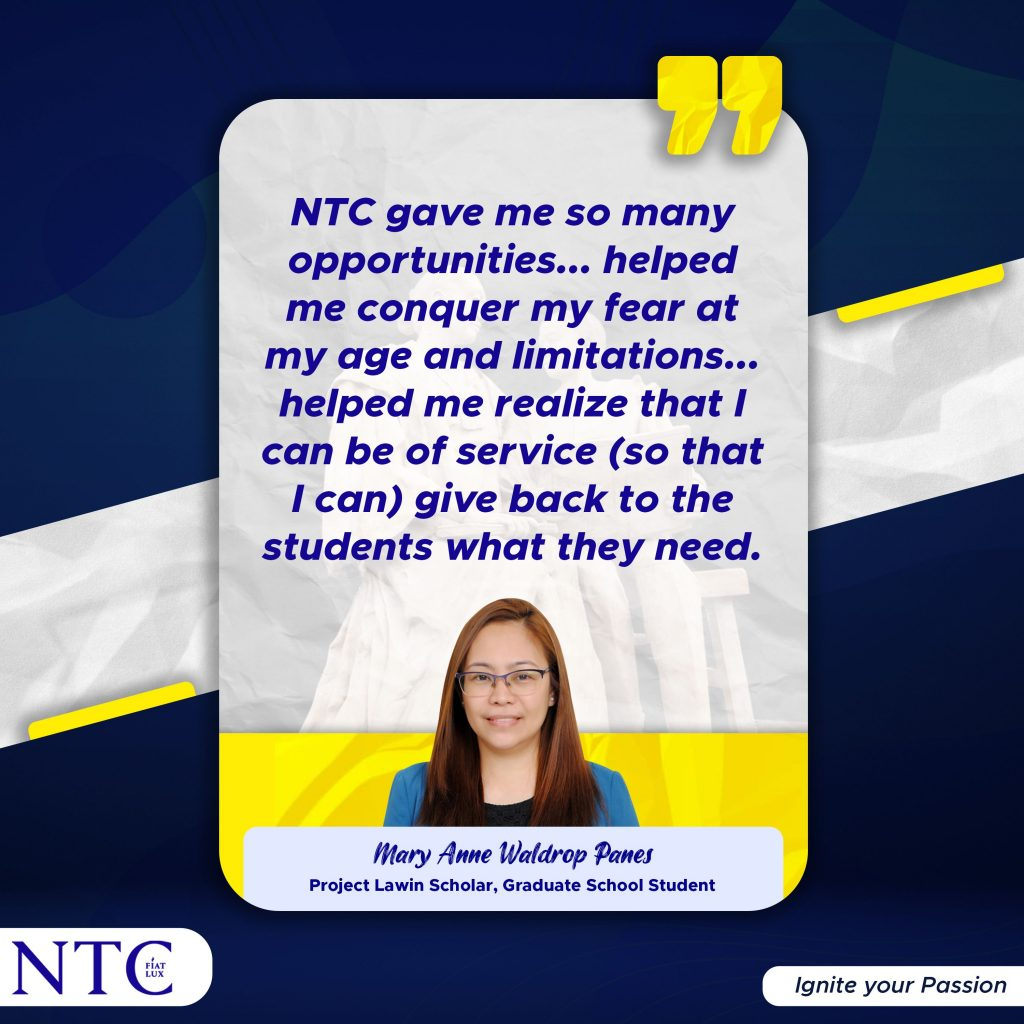 NTC x Project Lawin Teacher with Ambition