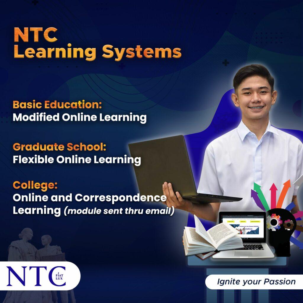 NTCs Learning Modality