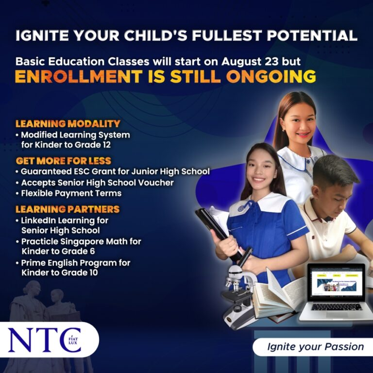 what ntc provides for basic ed students