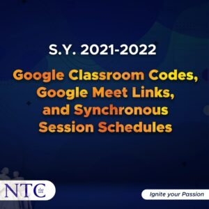 Google and Synchronous Session Schedules