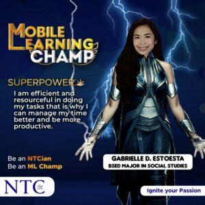 Our ML Champ: Gabrielle Estoesta